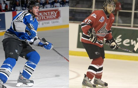 Steven Anthony and Yann Sauve, Saint John Sea Dogs