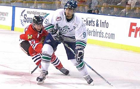 Prab Rai of the Seattle Thunderbirds