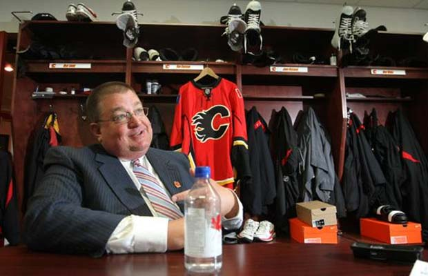 Jay Feaster, Calgary Flames