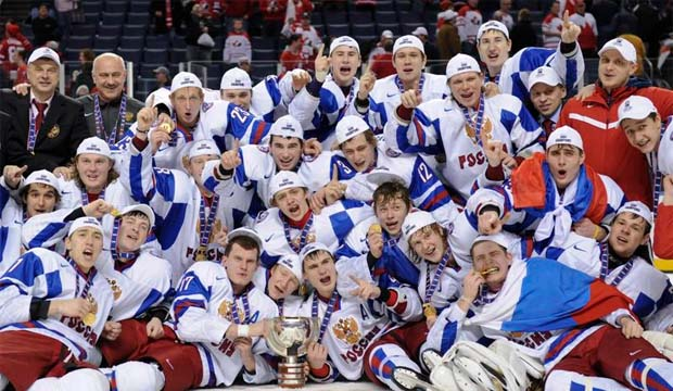 Team Russia wins gold at 2011 World Junior Hockey Championships