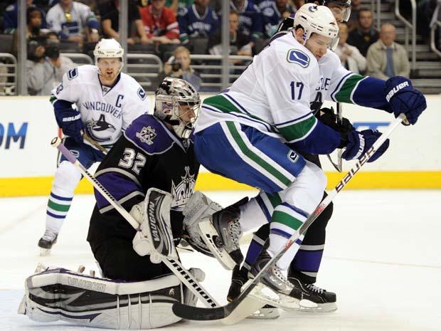 Ryan Kesler, Vancouver Canucks