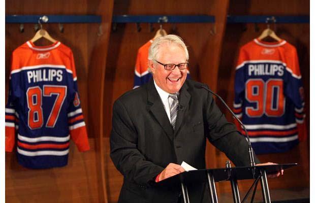 Rod Phillips, Edmonton Oilers