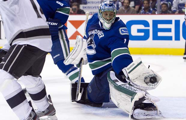 Roberto Luongo, Vancouver Canucks