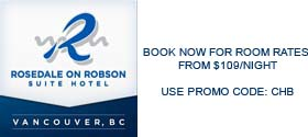 Rosedale on Robson Suite Hotel, Vancouver Canucks